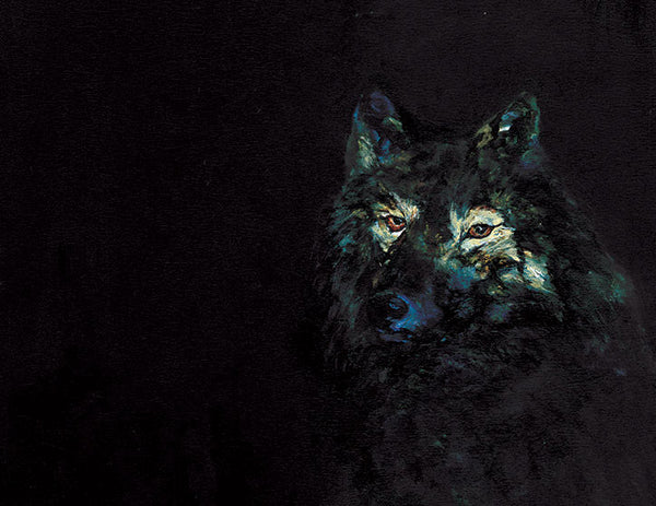 Night Wolf - Limited Edition Print