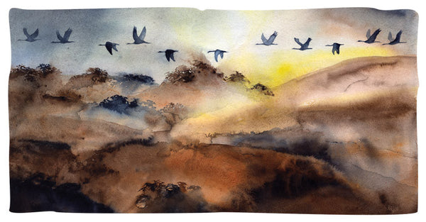 September Sandhill Sunrise – Limited Edition Print