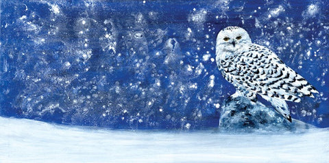 Snowy Evening - E-card