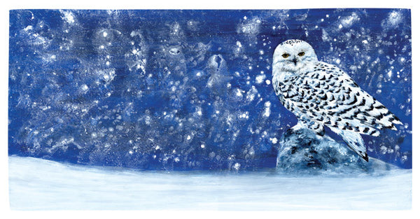 Snowy Evening – Limited Edition Print