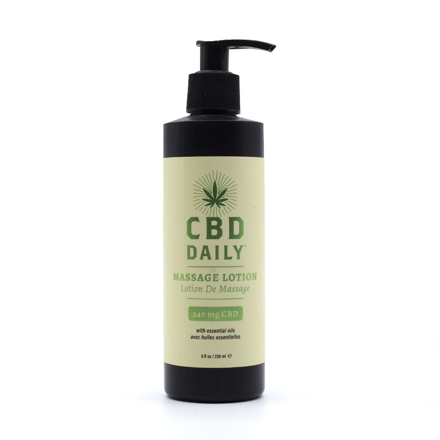 CBD Daily - Lotion de Massage CBD - thehemp.today