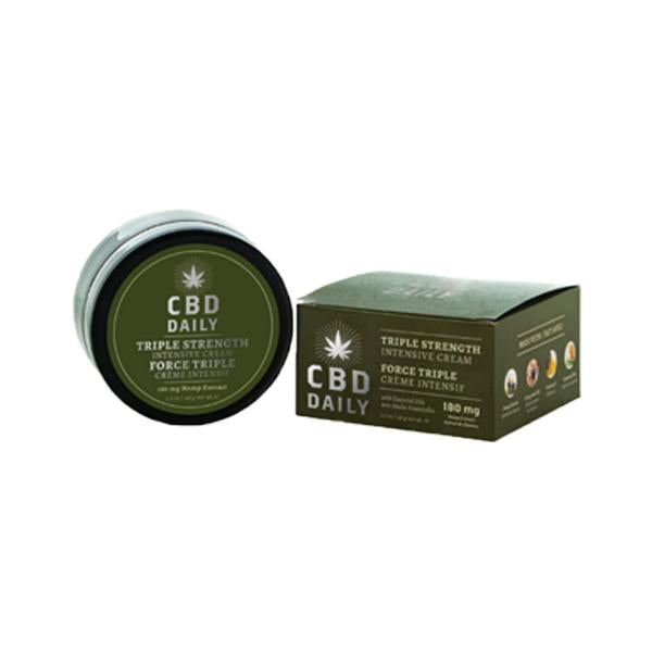 CBD Daily - Crème intensive au CBD - Force Triple - thehemp.today