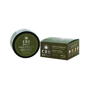 CRÈME INTENSIVE AU CBD - FORCE TRIPLE - thehemp.today