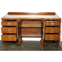 Antiques Consigned c1950 Vintage Mahogany Dining Room Buffet Sideboard - ANTSBD50