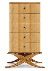 Beverly Decca Chest - Made in USA - Hand-Made Luxury Chairs, Couch, Sofa, Tables and Cabinets - Custom Furniture