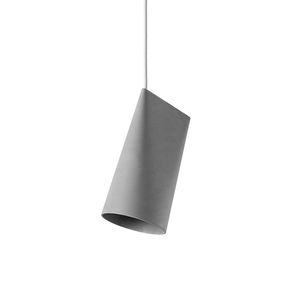ceramic pendant lamp moebe light grey