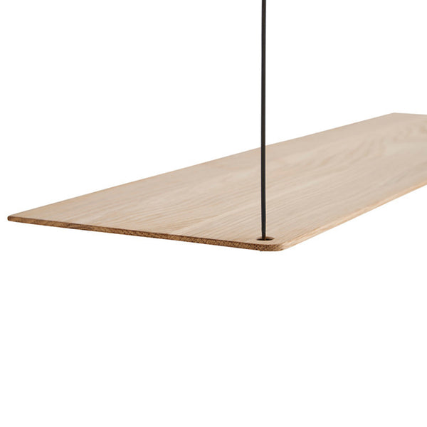 add on shelf van woud in de kleur oak