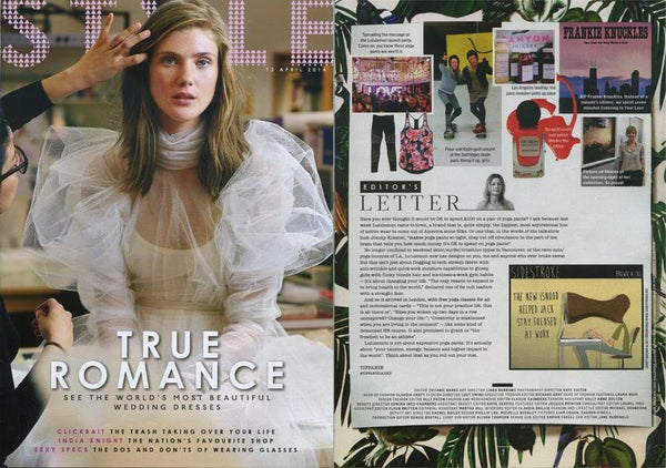 Sunday Times Style Magazine 13th April 2014