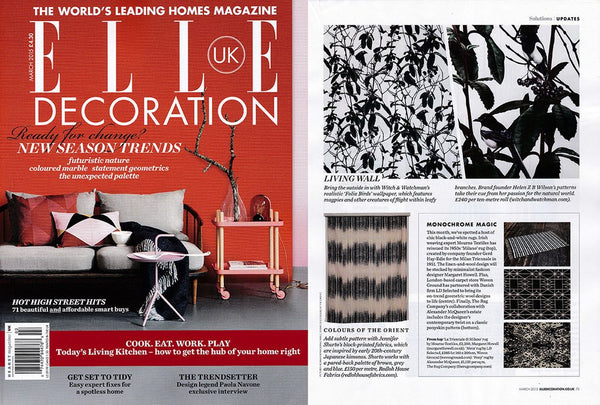Elle Decoration March 2015