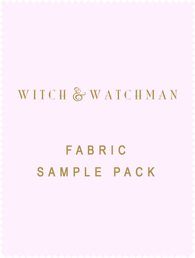 Witch and watchman Mixed Fabric sample box