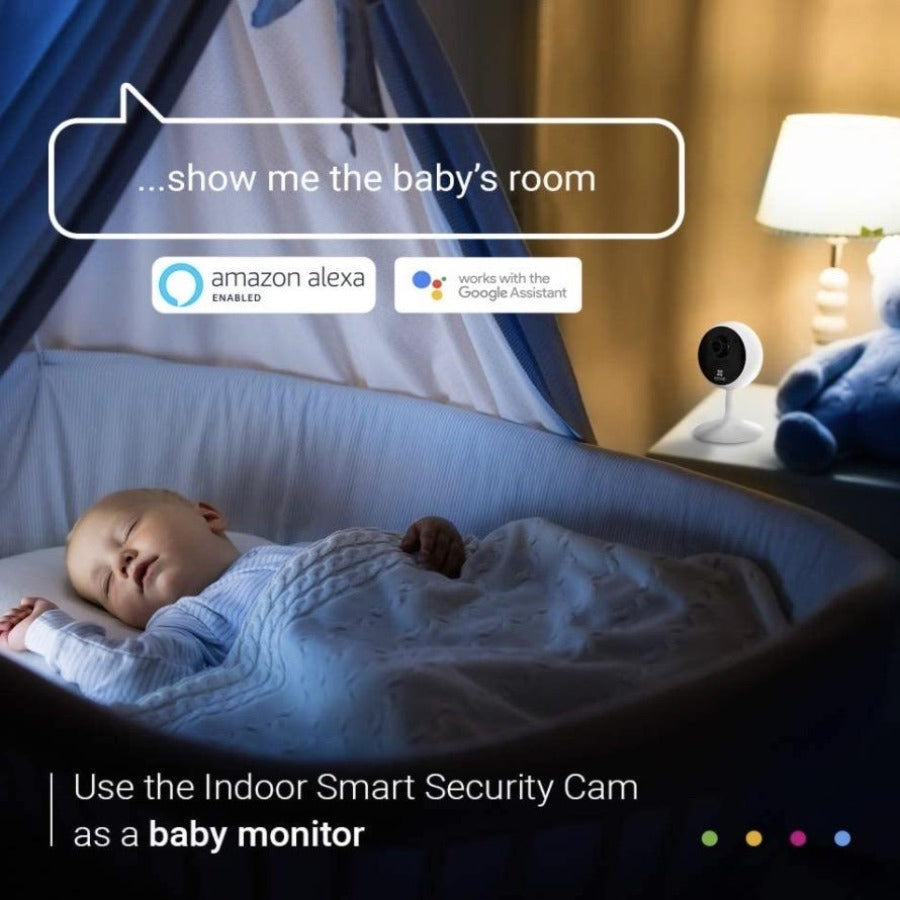 Indoor Wireless Security Camera and WIFI Camera Baby Monitor 1080P HD - Sharp Shifter