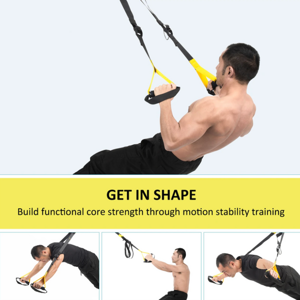 Full Body Training Suspension Straps & Fitness Workout System - Sharp Shifter