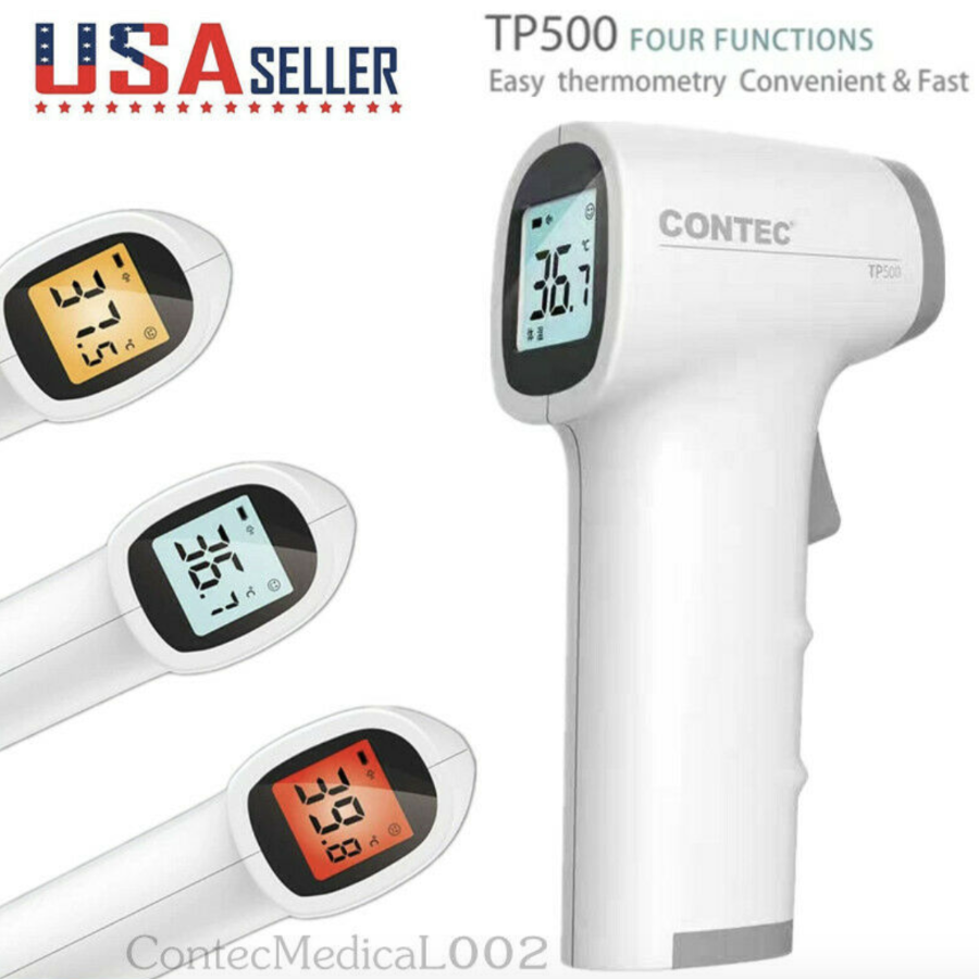 Infrared Non-Contact Forehead Thermometer for Fever & Temporal Scanner - Sharp Shifter