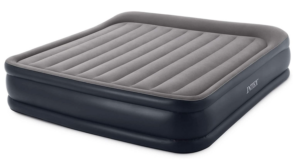 Deluxe Inflatable Air Mattress Bed with Built In Pump - King Size - Sharp Shifter