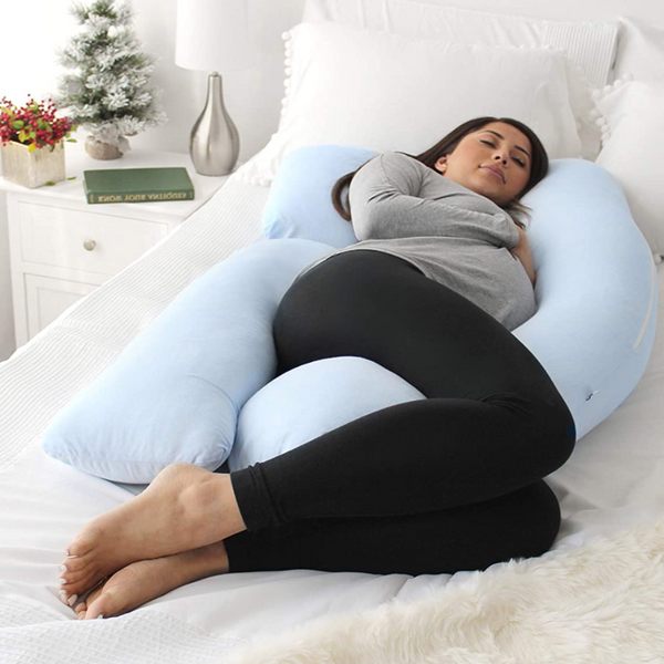 Full Body Maternity & Pregnancy Pillow with Detachable Extension - Sharp Shifter
