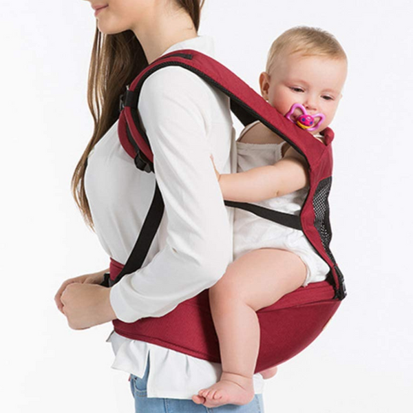 6 in 1 Ergonomic Baby Carrier Hip Seat and Baby Backpack - Sharp Shifter