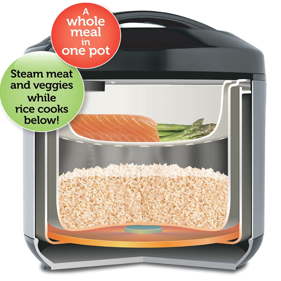3 Squares Multi-Use Pressure Cooker Hot Pot & Automated Rice Cooker - Sharp Shifter