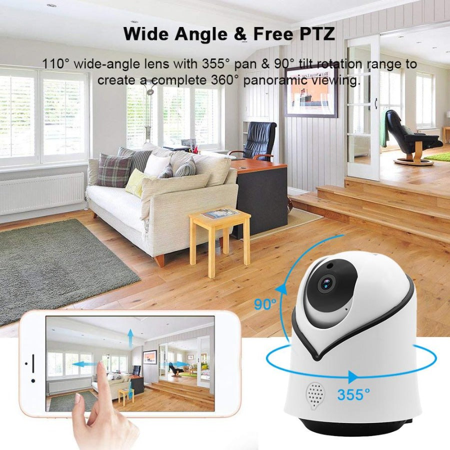 FirstEye 1080P Wireless Security Camera System and Wifi Home Surveillance Cameras - Sharp Shifter