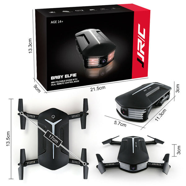Foldable Quadcopter Skye Drone with Camera The Perfect Pocket Drone - Sharp Shifter