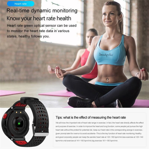 HealthBand Fitness Blood Pressure Smart Watch and Heart Rate Monitor - Sharp Shifter