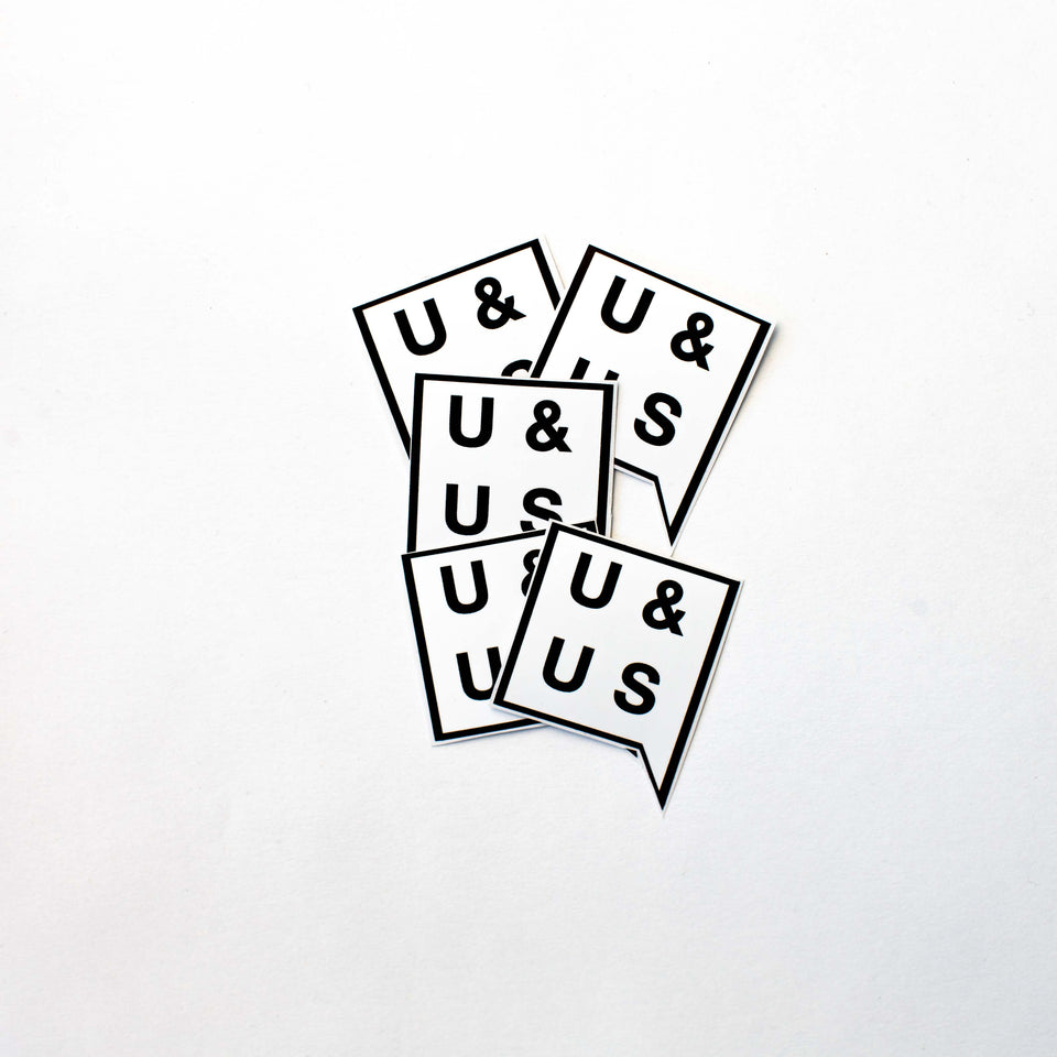 U&US Sticker Pack - URBAN & UNCUT Supply