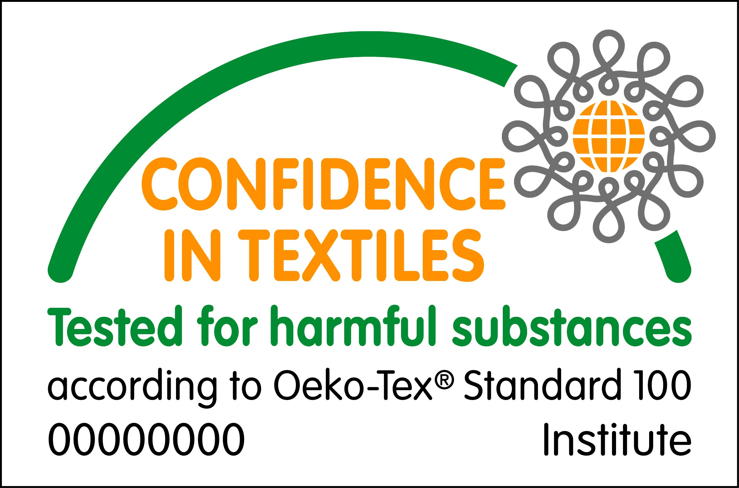 Original Chill Pads are Oeko-Tex Certified