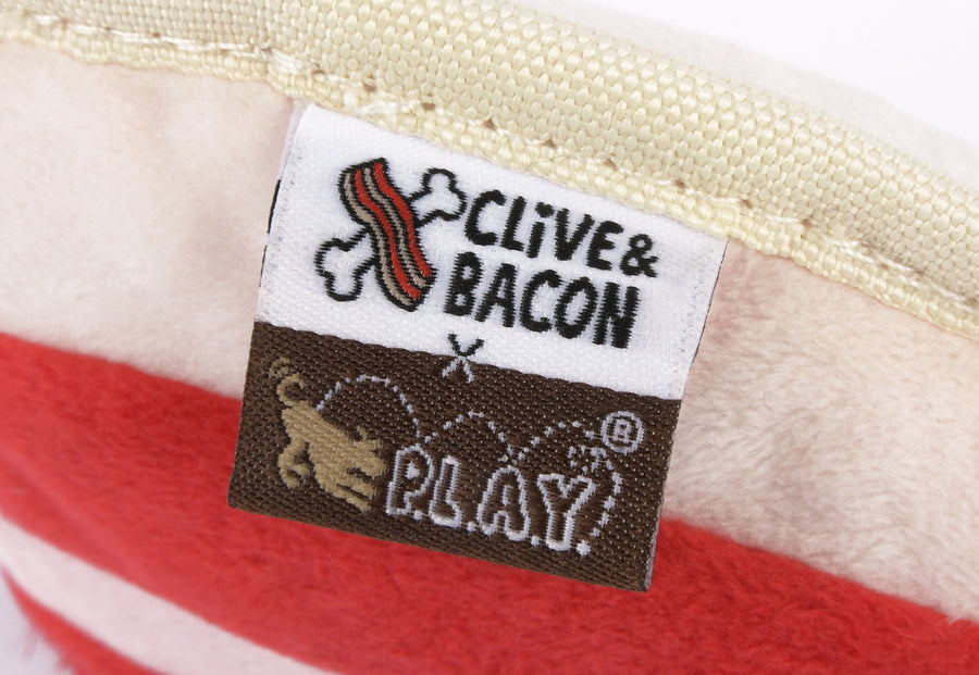 Clive & Bacon x P.L.A.Y. Collab