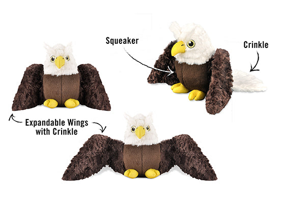 Gallery: Fetching Flock Eagle Toy PY7087ALF