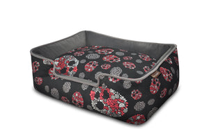 Variant: Skulls and Roses Lounge Bed PY3009ASF