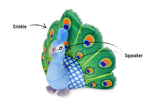 Gallery: Fetching Flock Peacock Toy PY7087CLF