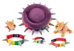 Gallery: Spiked! by P.L.A.Y. Plush Collars PYBIFF9001ASF