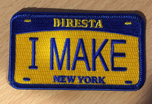 DIRESTA I MAKE IRON ON PATCH