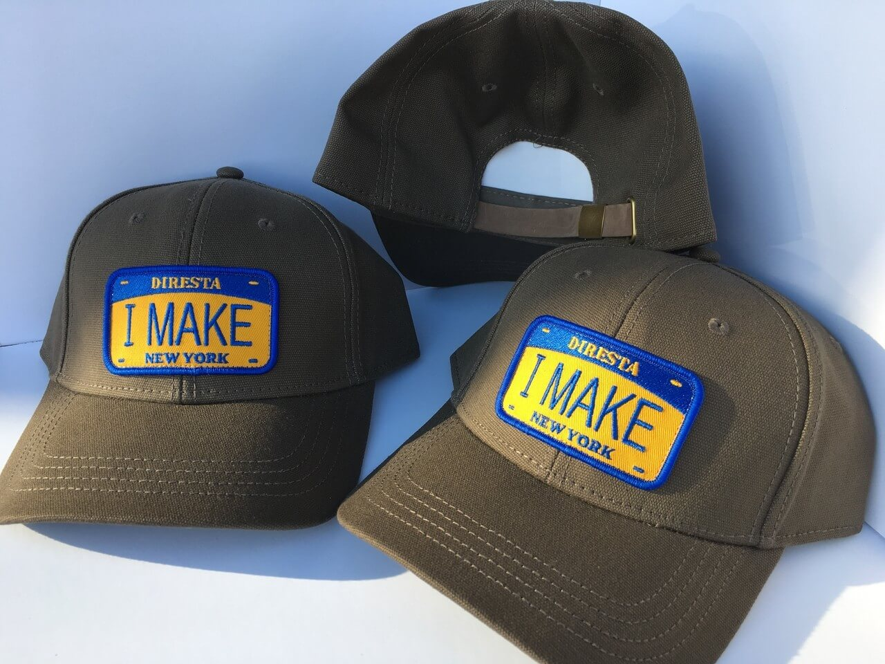"DIRESTA NY ""I MAKE"" PLATE BASEBALL HAT"