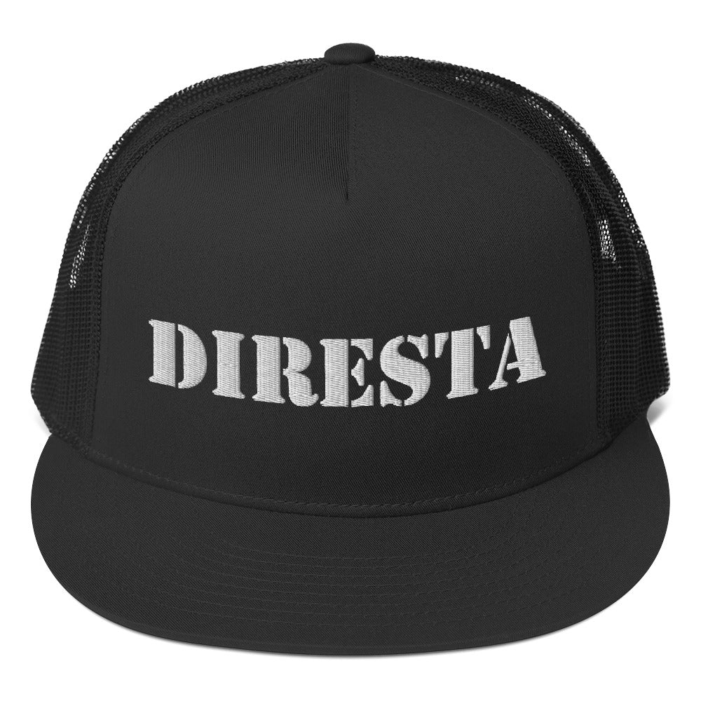 DIRESTA EMBROIDERED TRUCKER HAT