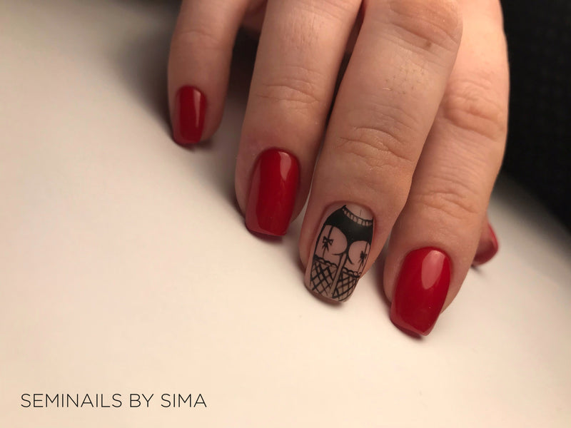 "Lakier hybrydowy ""Sincero Salon"", 6ml, Sexy red, 727"
