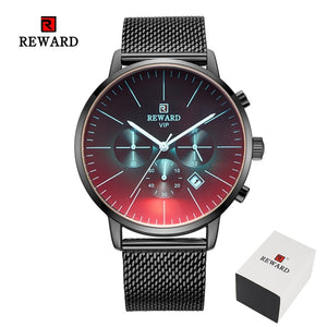 Stainless Steel Business Wrist Watch