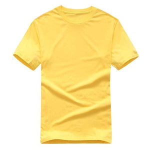 Solid Color T Shirt Mens