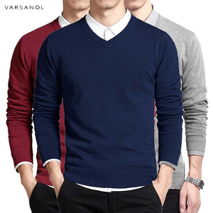 Slim Fitting Cotton Sweater