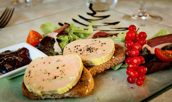 Ballotine of steamed foie gras : Bento Box Recipe N°41