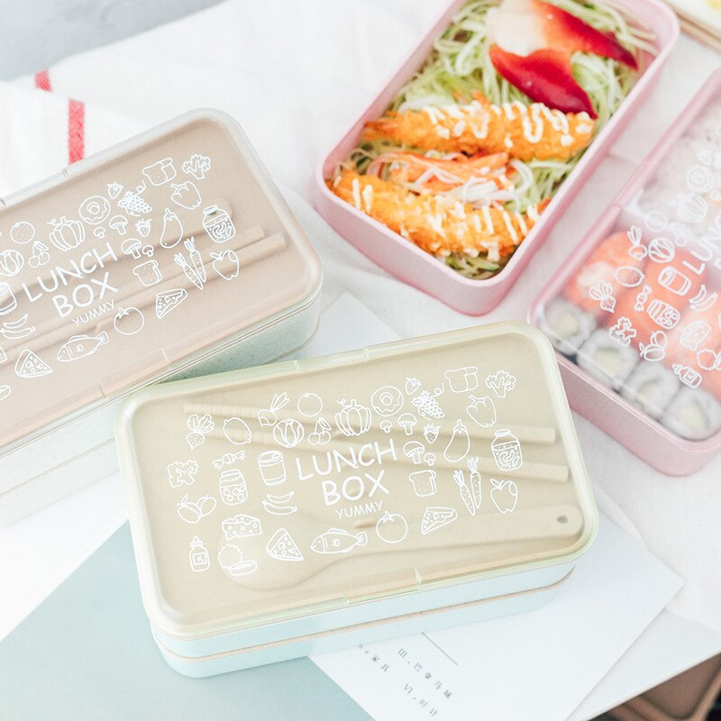 Large Bento Box for Kids
