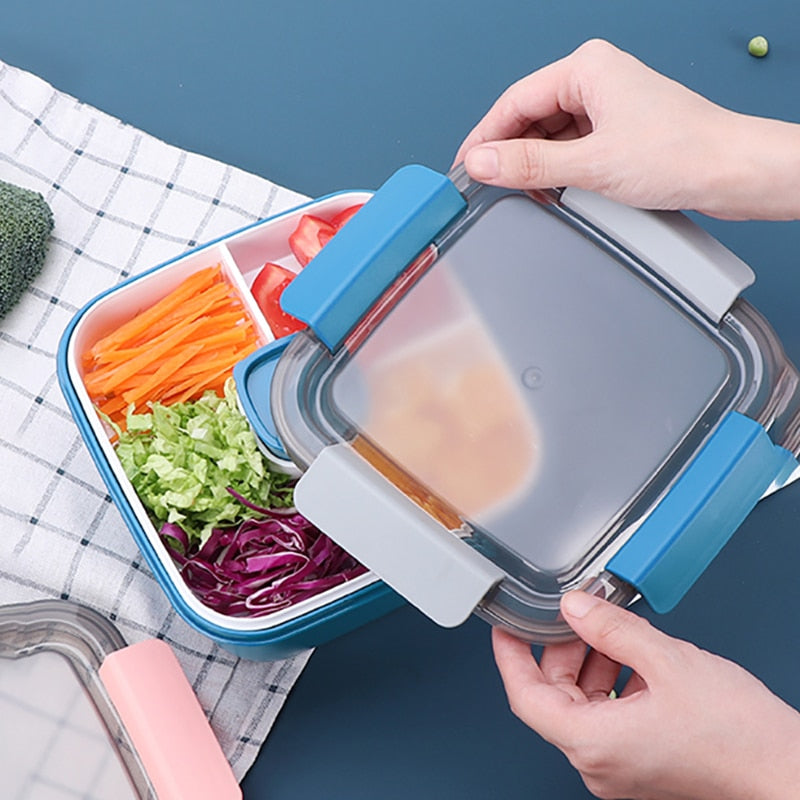 Bento square four compartments | Bento-cook.com