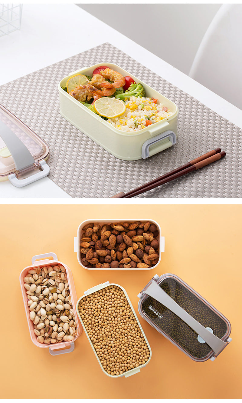 Bento Box Rectangular picnic | Bento-cook.com