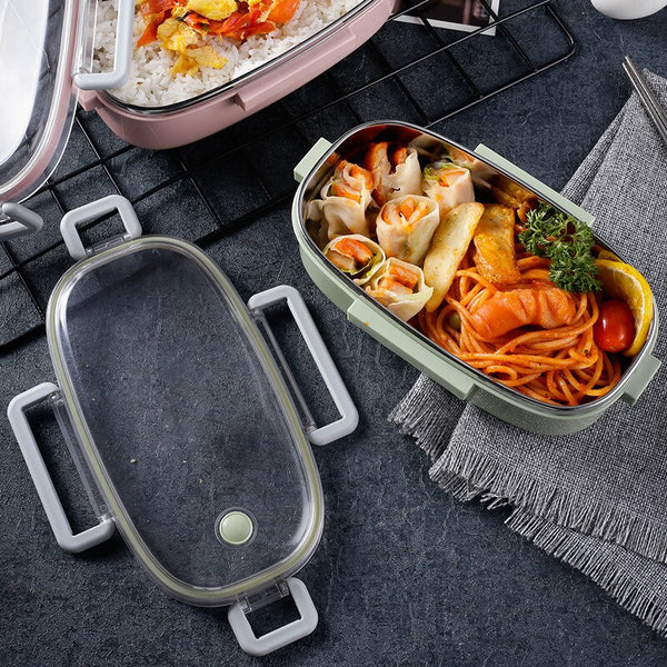 Lunch box Inox Ronde | Bento-Cook.com