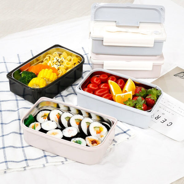 Lunch Box de Bureau Inox | Bento-Cook.com