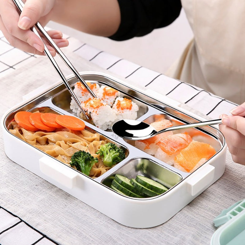 Stackable Bento Box with compartments