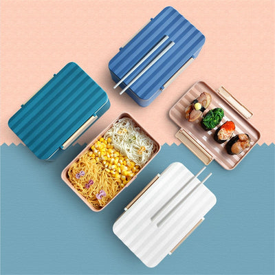 Bento Box Striated shape | Bento-cook.com