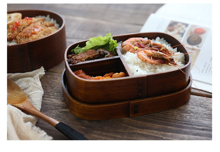 Bento Box Mini Wood | Bento-cook.com