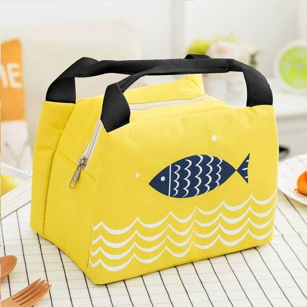 Yellow Bento Bag