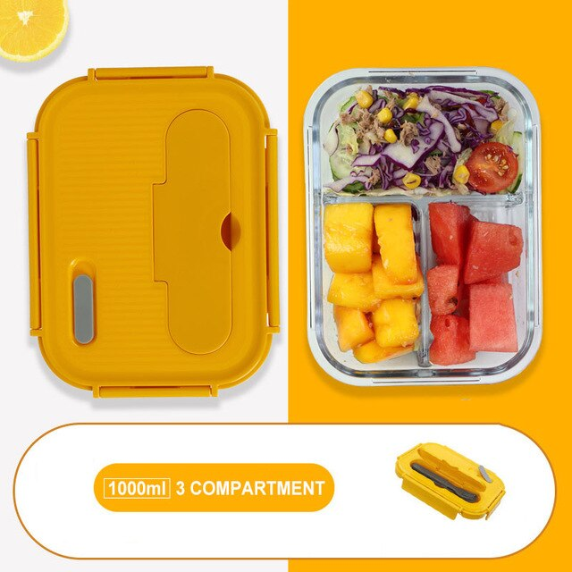 Glass Bento Box for Kids