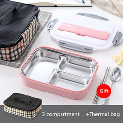 Japanese Style Bento Box with compartments